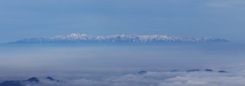 蔵王の雲海写真でおそば屋さんのPOPを作りました!